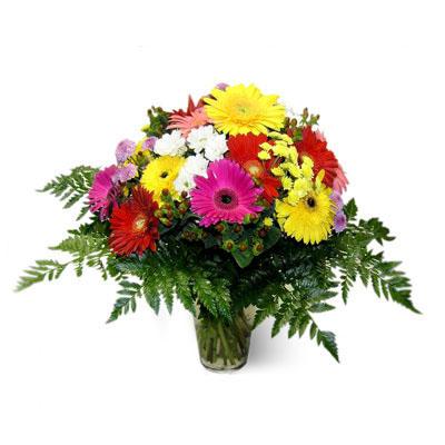 Шары цветы из гофрированной бумаги
